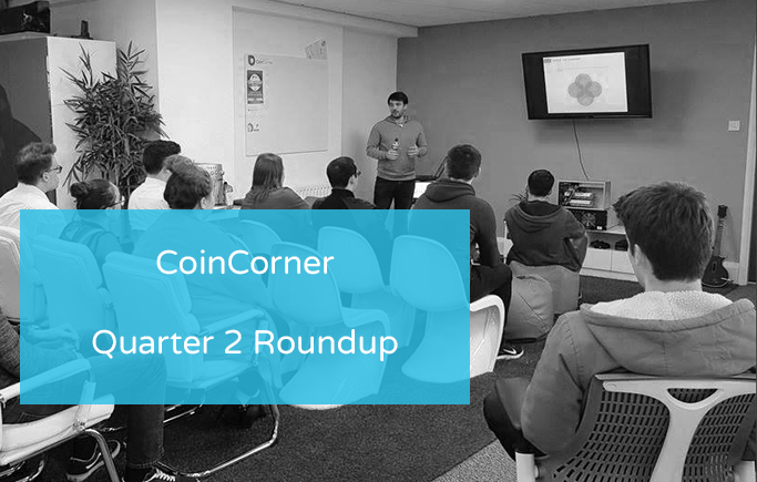 CoinCorner's Achievements in Quarter Two